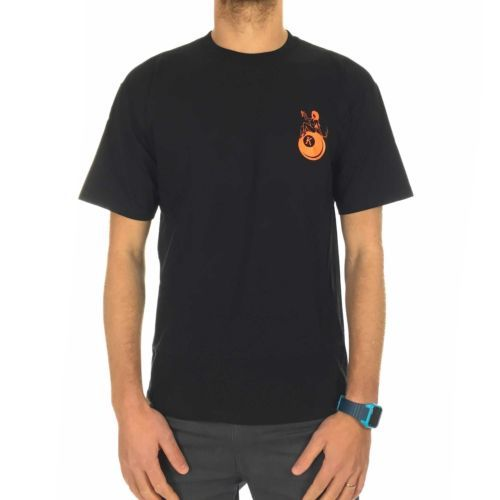Kr3w k ball #t-shirt in black/orange - mens #skateboard #fashion tee,  View more on the LINK: 	http://www.zeppy.io/product/gb/2/162125750846/