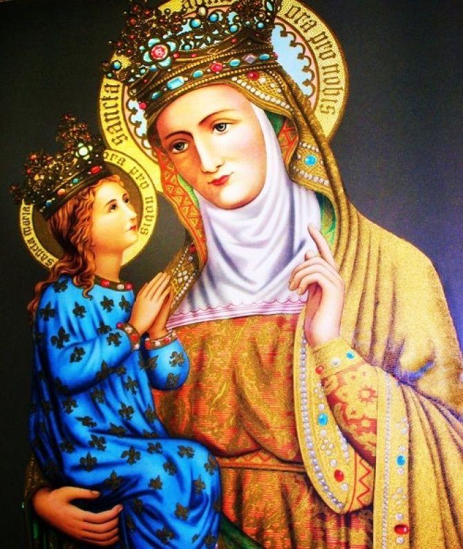 PRAYER TO ST. ANNE  (To obtain an increase of faith)