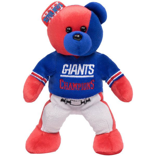 New York Giants Super Bowl XXI Champions Thematic Bear