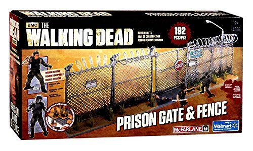 McFarlane Toys, The Walking Dead Exclusive Building Set, Prison Gate & Fence (14556) Unknown http://www.amazon.com/dp/B00TT5KBCE/ref=cm_sw_r_pi_dp_r1ZKvb0XS0Q2H