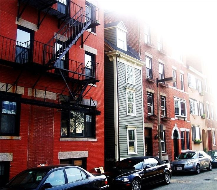 """If you want to visit Boston, you can rent out """"The Skinny House"""", a fully renovated spite house with lots of character."""
