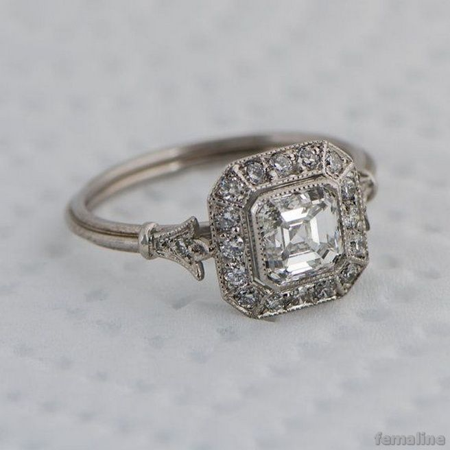 vintage wedding jewelry 2017 trends and ideas 32 - Wedding Rings Pinterest