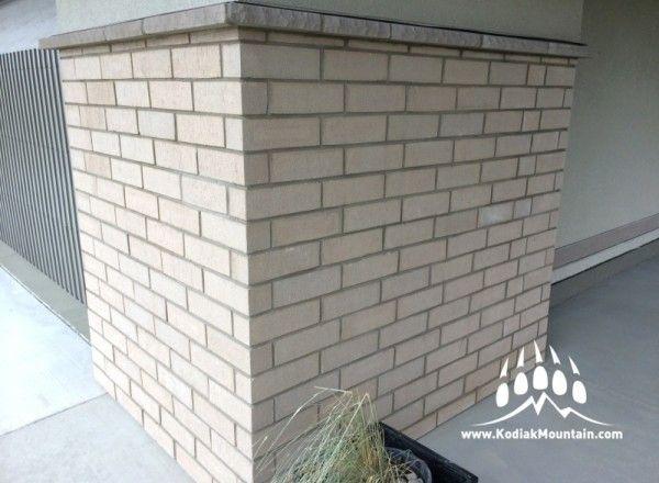 General Shale Brick: Coliseum -- for Van Arbor Homes, Lethbridge AB -- www.meerkerkstonework.ca