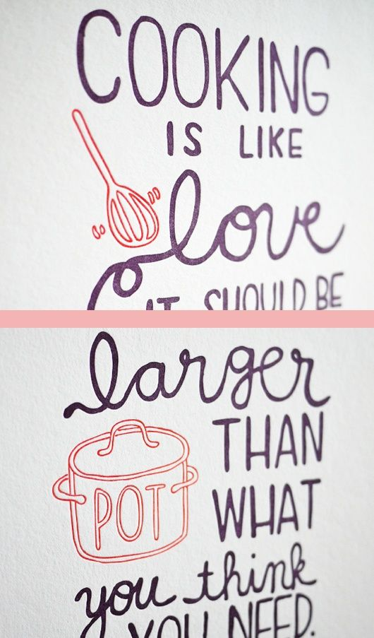 chef, julia child, quotes, sayings, cooking is like love