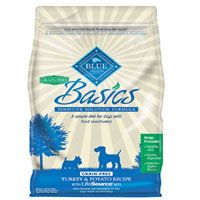 Blue Buffalo Basics Grain Free Turkey & Potato Recipe Adult Dry Dog Food | Pet Food Direct
