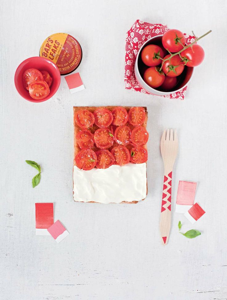 Tomato – mozzarella by Emilie Guelpa | Cooked