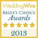The esteemed annual awards program recognizes the top five percent of wedding professionals in the WeddingWire Network who demonstrate excellence in quality, service, responsiveness and professionalism.