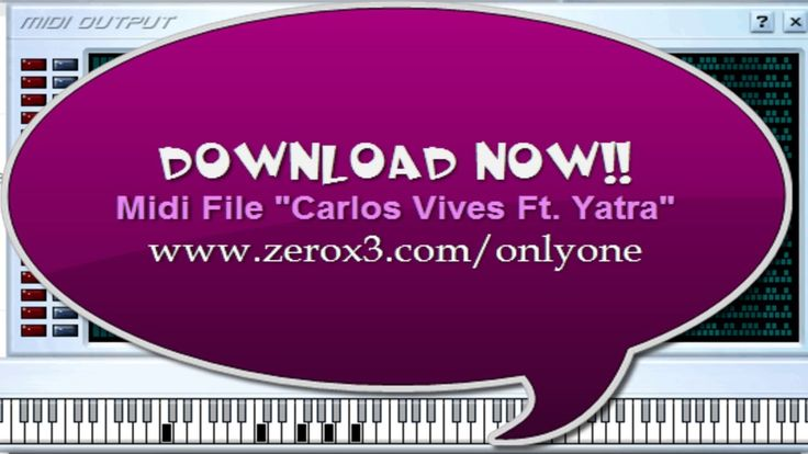 Robarte Un Beso - Carlos Vives - Sebastian Yatra - Midi File (OnlyOne)