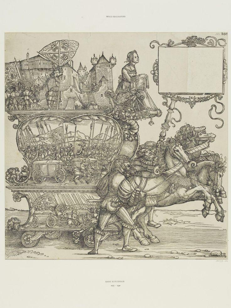 Triumph of Maximilian, A.102 appox. 1516