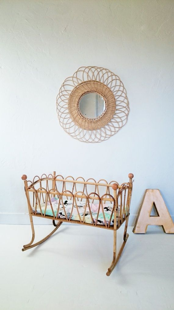 Rattan furniture from the French Vintage Team par Laura sur Etsy