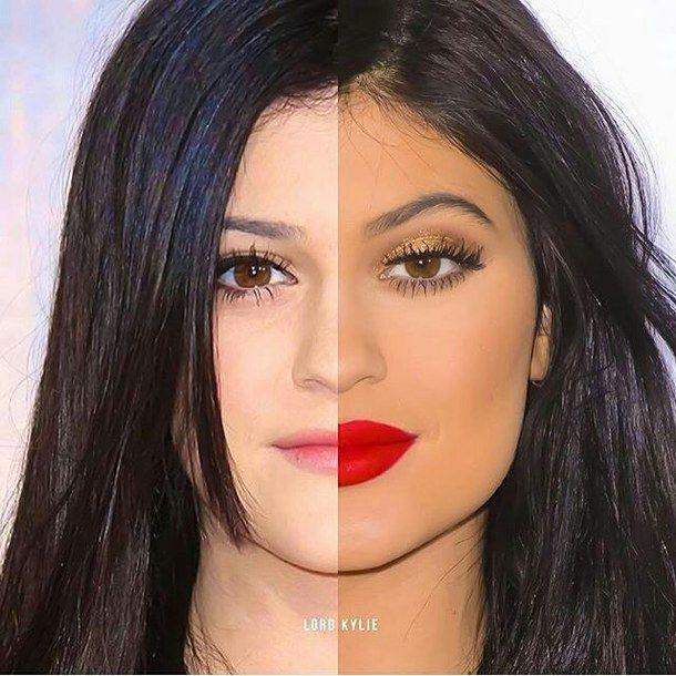 After, Before, Eyes, Kendall Jenner, Kylie Jenner