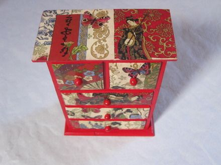 boite meuble precieuses geishas japon boites. Black Bedroom Furniture Sets. Home Design Ideas