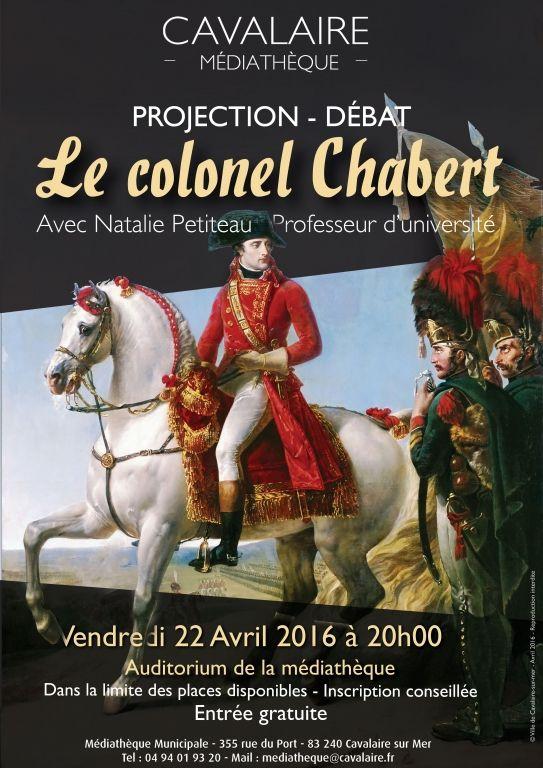 PROJECTION - DEBAT   Le colonel Chabert, Cavalaire-sur-Mer (83240), Var