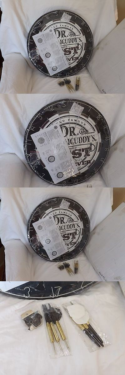 Dart Boards 72576: Dr. Mcgillicuddy S Advertising Dartboard Wood Steel Tip Darts 18 Diameter New -> BUY IT NOW ONLY: $34.99 on eBay!