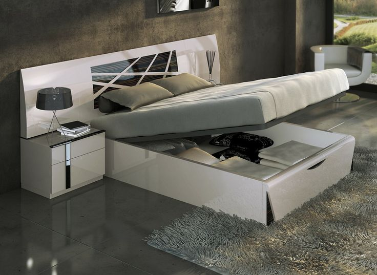 espectacular dormitorio de matrimonio en lacado arena y