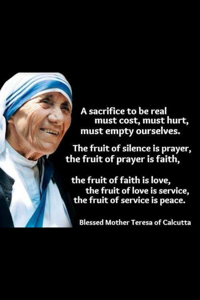 mother teresa strength quotes