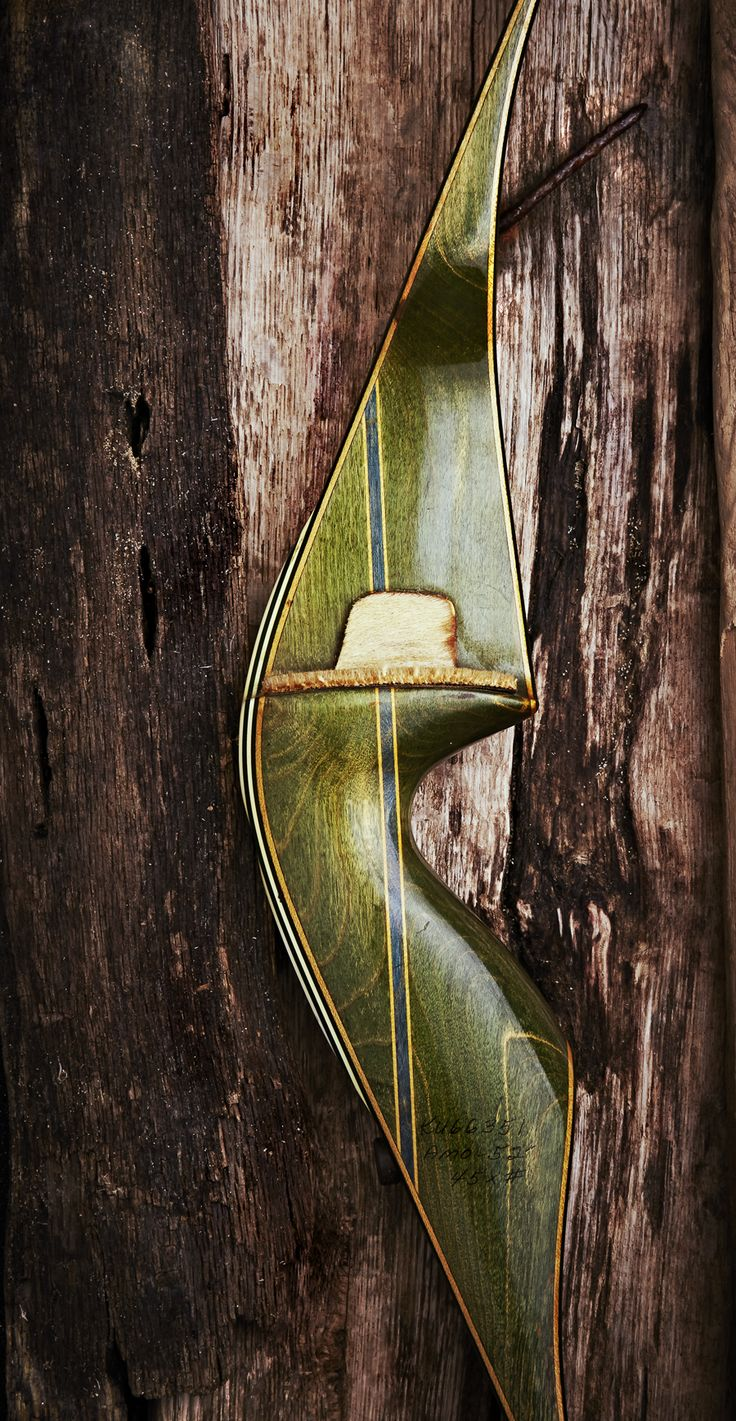 Archery Editorial shoot - Vintage Fred Bear  Kodiak Magnum Recurve Bow ©jimwrigleyphotography