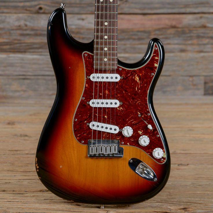 Fender American Standard Stratocaster Sunburst 1998 (s048)
