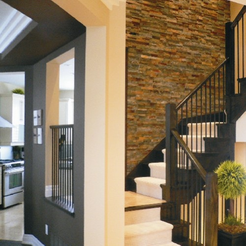 5 Beautiful Accent Wall Ideas To Spruce Up Your Home: 17 Best Ideas About Interior Stone Walls On Pinterest