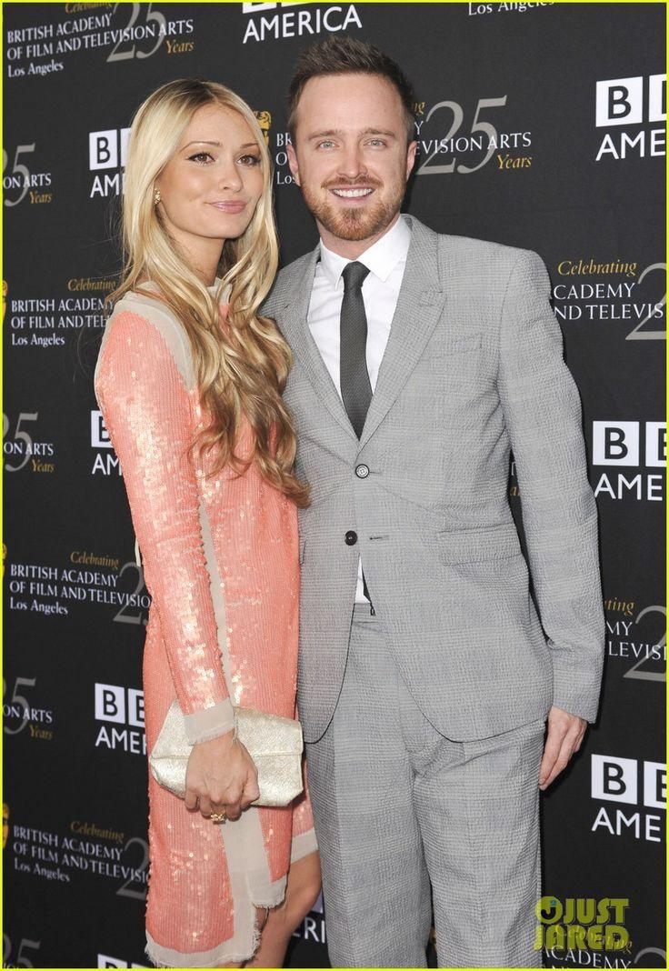 Aaron Paul & wife ...