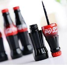 New Brand Cola Style Waterproof Eyeliner Liquid Type Makeup Eye liner Long Last Black Eyeliner MK0148(China (Mainland))
