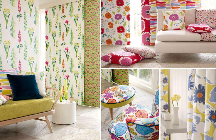 M s de 1000 ideas sobre cortinas altas de ducha en - Papeles pintados sanderson ...
