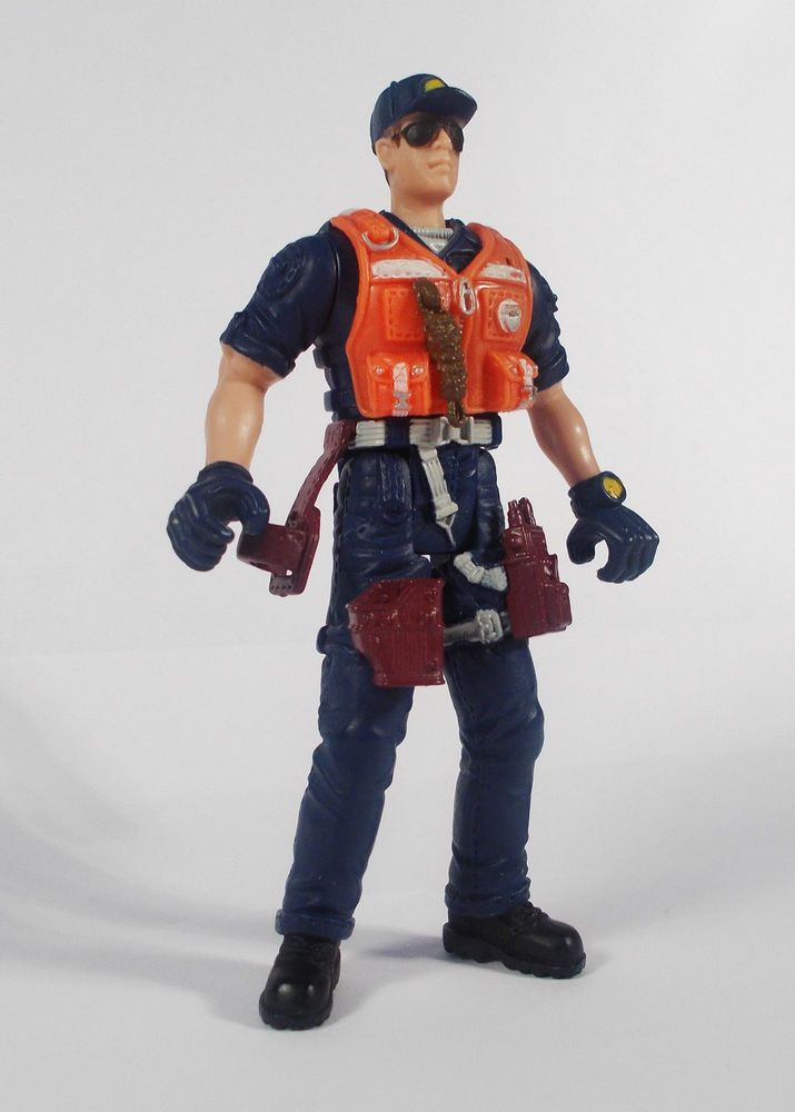 Police vs Bad Guyz - Captain Maxwell Action Toy Figure - Chap Mei (6)