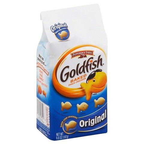Pepperidge Farm® Goldfish Original Saltine Baked Snack Crackers - 6.6 oz