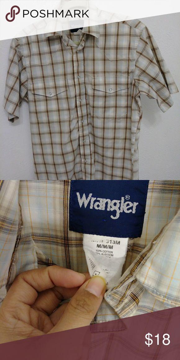 Wrangler dress shirt EUC Wrangler Shirts Dress Shirts