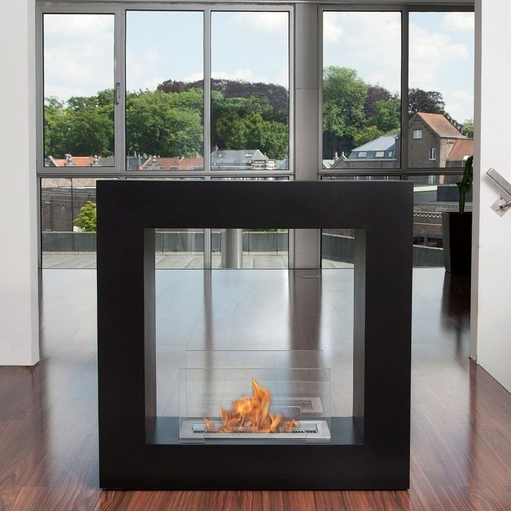Nice Bio Blaze Black Qube Bio Ethanol Fireplace   Small By Bio Blaze