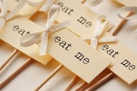 'Eat me' prikkers voor cupcakes