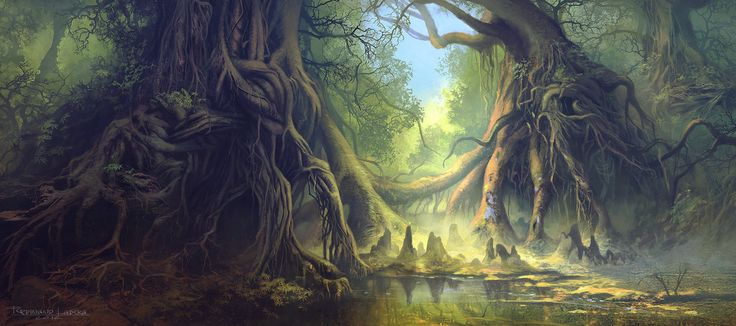 Mystical Forest by *FerdinandLadera on deviantART