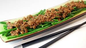 Asian Theme - Long Beans and Beef