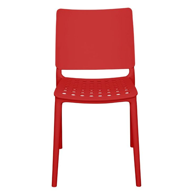 Outdoor Source Contract Marcay Patio Dining Side Chair - SC-2604-162-RED