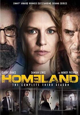 Homeland: Season 3 (DVD). Click on the cover to see if the movie is available at Freeport Community Library.