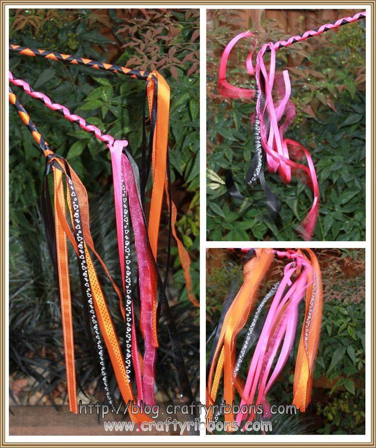 21 best doof sticks images on pinterest wands magic for Ribbon wands