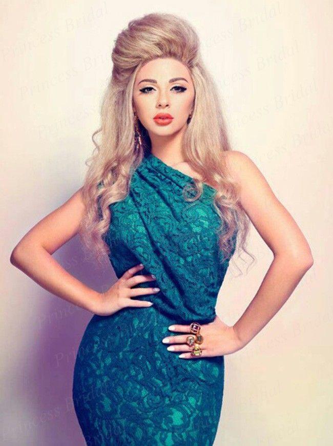 Бесплатная доставка скидка новый оболочки одно плечо кружева Myriam тарифы платья короткие платья знаменитостей MF004