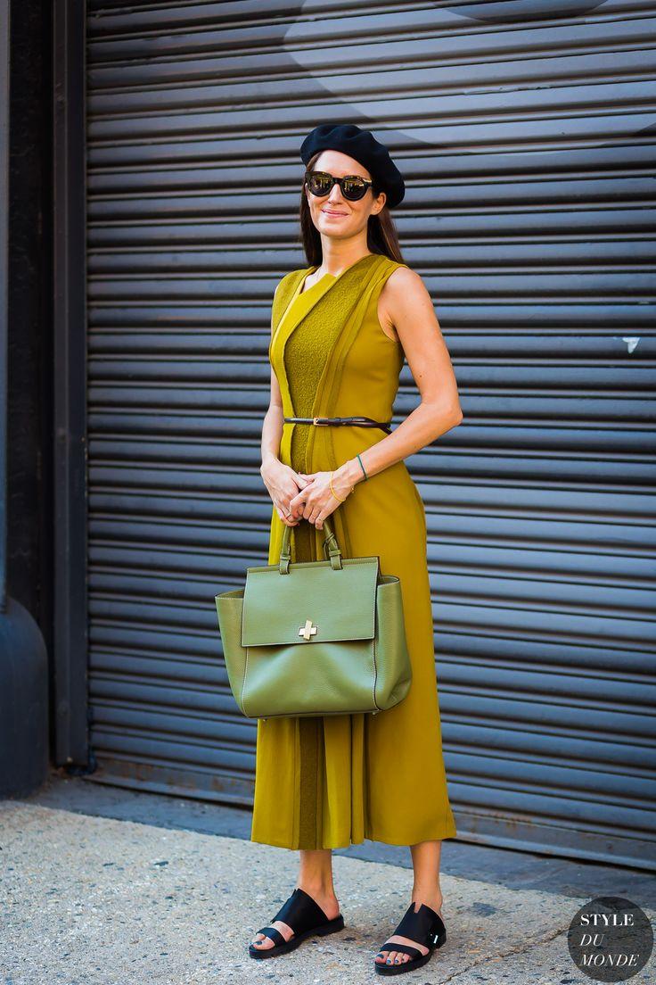 New York SS 2017 Street Style: Gala Gonzalez