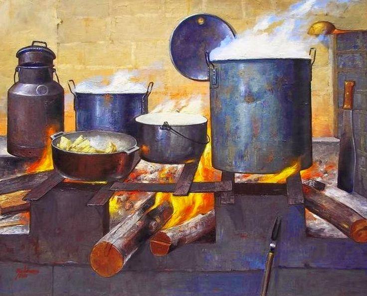 cuadros para cocinas rusticas - Buscar con Google