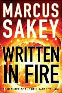 Canadian Bookworm: Written in Fire