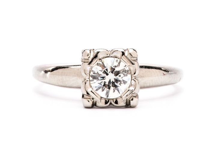 45 best images about Vintage Engagement Rings on Pinterest