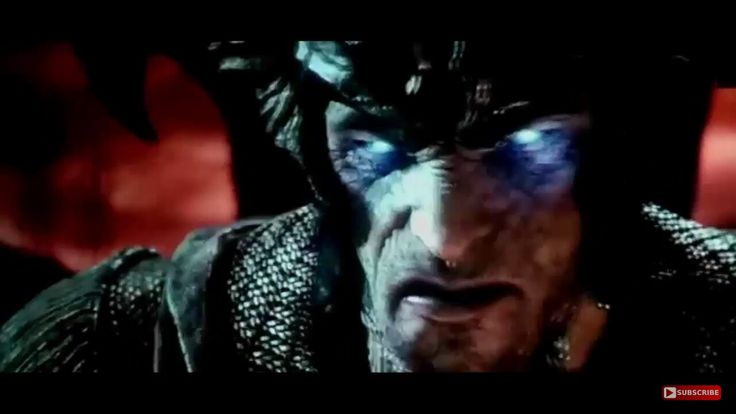 Face furious of Steppenwolf  (Justice League)