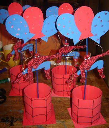 Resultado de imagen para cosas del hombre araña para cumpleaños