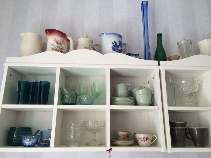 Keittiöstä, osa astioistani