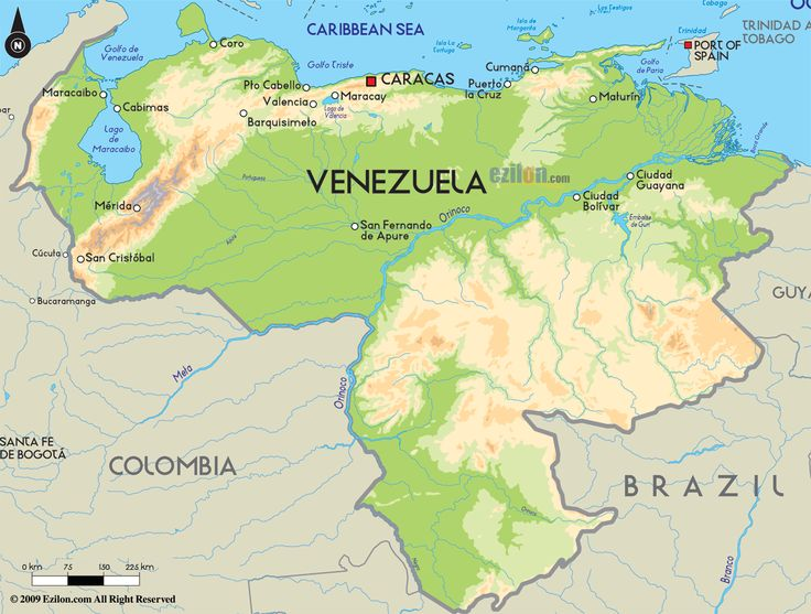 Best Whispering WidowVenezuela Images On Pinterest Maps - Road map of colombia 2006