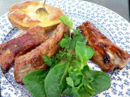 Travers de porc au caramel : la recette facile