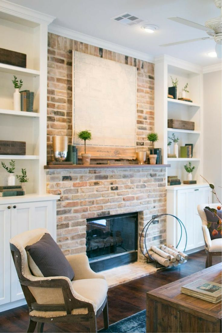 Living Room With Fireplace Designs best 25+ brick fireplace wall ideas on pinterest | brick fireplace