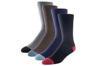 These recycled, luxury set of Bamboo Socks have naturally deodorising elements. Great for all the senses.