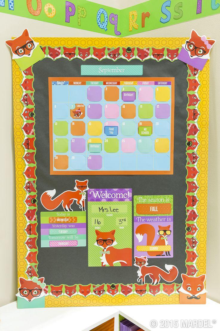 Classroom Bulletin Board Decor ~ Best images about fox classroom theme on pinterest
