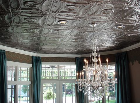 How To Cover Ugly Popcorn Ceilings Or Drywall In 2018 Rooms I Like Pinterest Ceiling Tin Tiles And